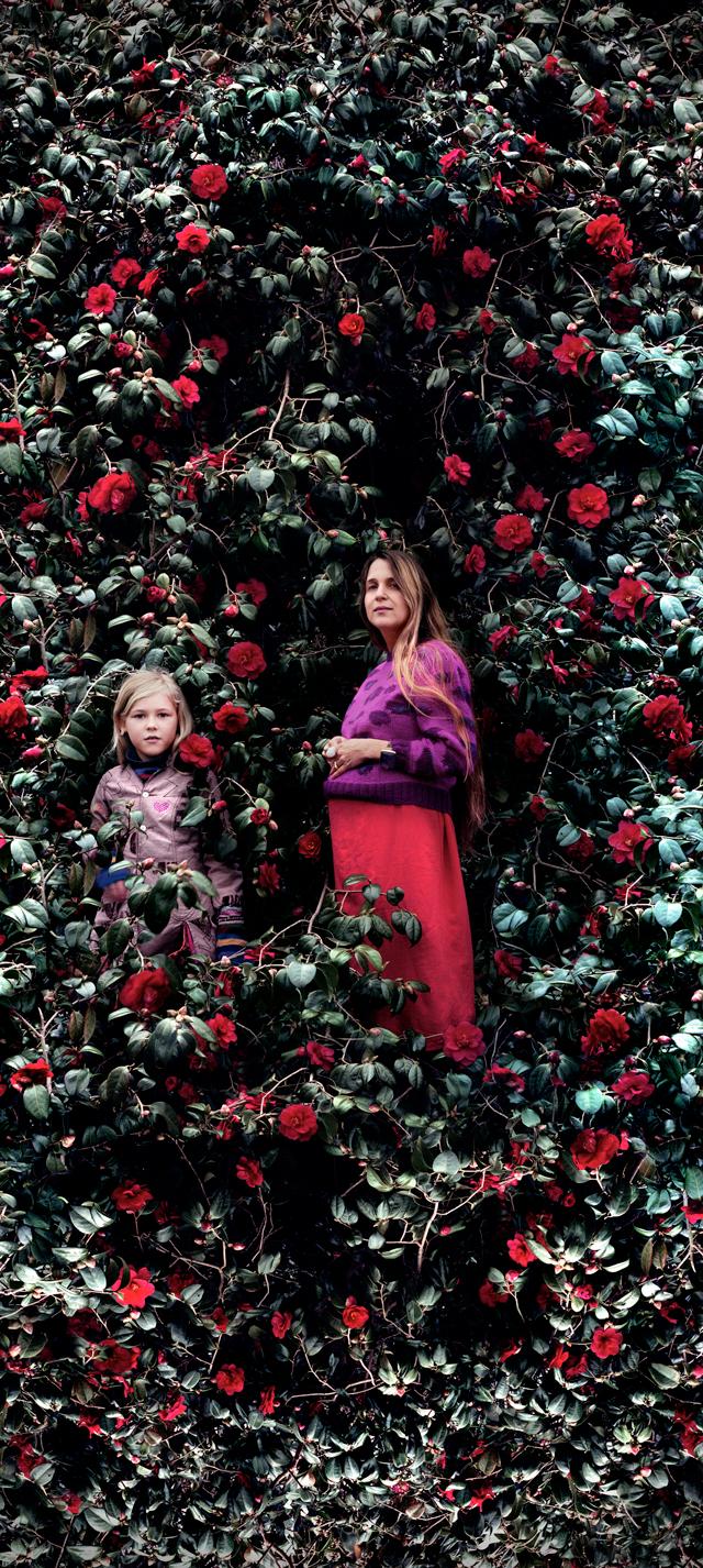 Francesca and Agnes, London, 2005