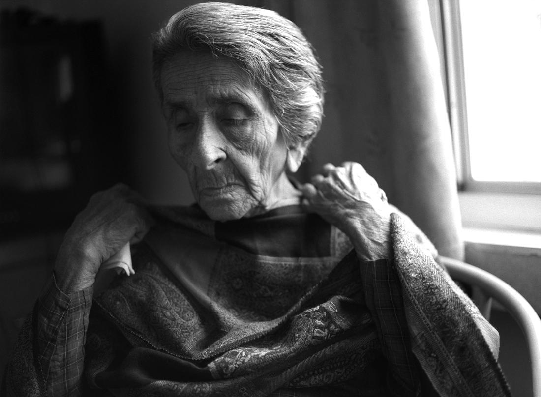 Homai Vyarawalla, India's First female photojournalist, London 2008